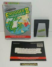 Covers Frogger II: Threeedeep! atari2600
