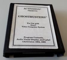 Covers Ghostbusters atari2600