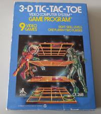 Covers 3-D Tic-Tac-Toe atari2600