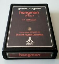 Covers Hangman atari2600