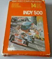 Covers Indy 500 atari2600