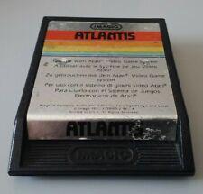 Covers Atlantis atari2600