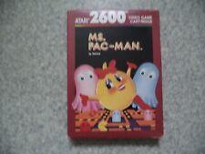 Covers Ms. Pac-Man atari2600