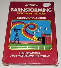 Covers Barnstorming atari2600