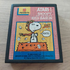 Covers Snoopy and the Red Baron atari2600