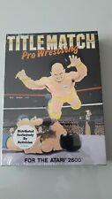 Covers Title Match Pro Wrestling atari2600