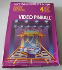 Covers Video Pinball atari2600