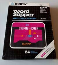 Covers Word Zapper atari2600