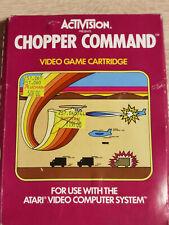 Covers Chopper Command atari2600