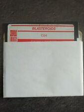 Covers Blasteroids commodore64