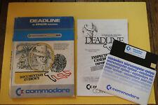 Covers Deadline commodore64