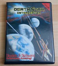 Covers Death Star Interceptor commodore64