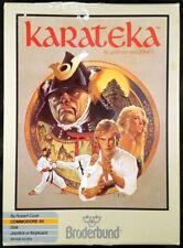 Covers Karateka commodore64