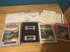 Covers Project Stealth Fighter commodore64