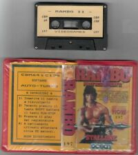 Covers Rambo First Blood Part II commodore64