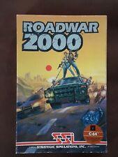 Covers Roadwar 2000 commodore64