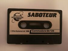 Covers Saboteur commodore64