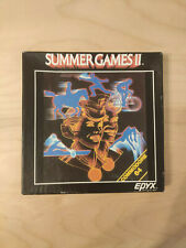 Covers Summer Games commodore64