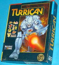 Covers Turrican commodore64