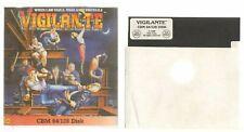 Covers Vigilante commodore64