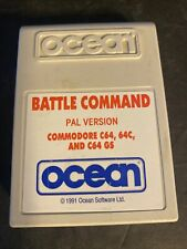 Covers Battle Command commodore64