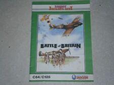 Covers Battle of Britain commodore64