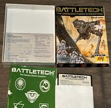 Covers BattleTech: The Crescent Hawk