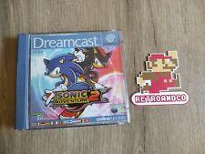 Covers Sonic Adventure 2 dreamcast_pal
