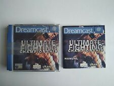 Covers Ultimate Fighting Championship dreamcast_pal