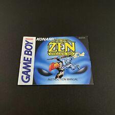 Covers Zen: Intergalactic Ninja gameboy