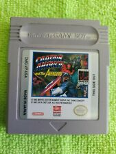 Covers Captain America and The Avengers gameboy