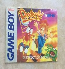 Covers Dexterity gameboy