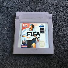 Covers FIFA 98 gameboy