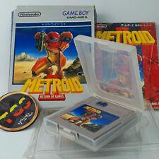 Covers Metroid II: Return of Samus gameboy