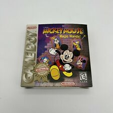 Covers Mickey Mouse: Magic Wands! gameboy