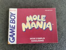 Covers Mole Mania gameboy