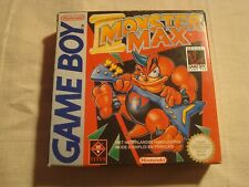 Covers Monster Max gameboy