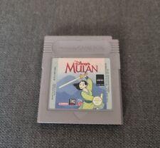 Covers Mulan gameboy