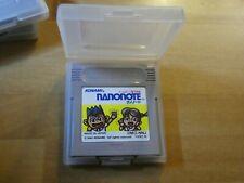Covers Nanonote gameboy