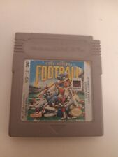 Covers Play Action Football gameboy