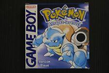 Covers Pokémon Version Bleue gameboy