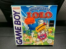 Covers Adventures of Lolo gameboy