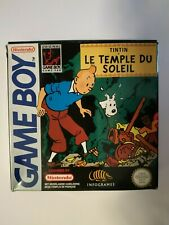 Covers Tintin: Prisoners of the Sun gameboy