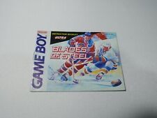 Covers Blades of Steel gameboy