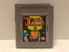 Covers Toxic Crusaders gameboy