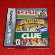 Covers Risk / Battleship / Clue gameboyadvance