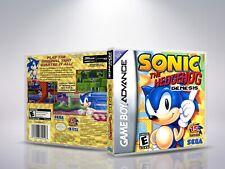 Covers Sonic the Hedgehog: Genesis gameboyadvance