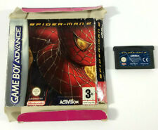 Covers Spider-Man 2 gameboyadvance