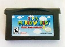 Covers Super Mario Advance 2: Super Mario World gameboyadvance
