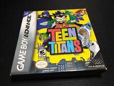 Covers Teen Titans gameboyadvance